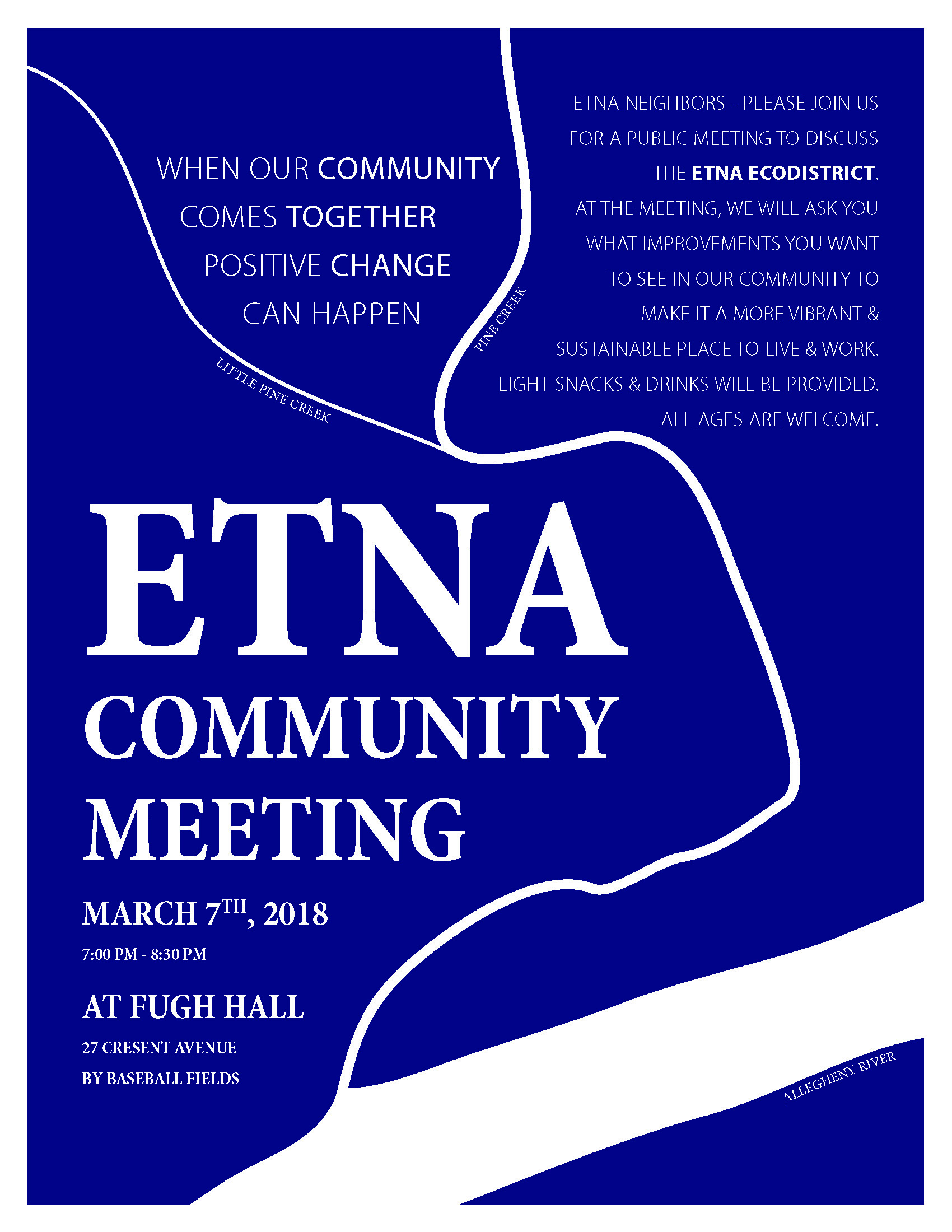 Etna EcoDistrict Community Meeting